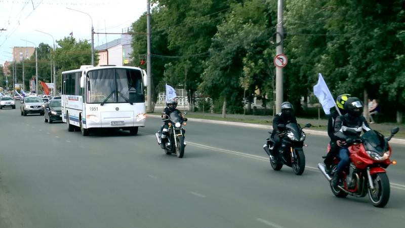 В Оренбурге финишировал автопробег «Россия -  трезвая страна!»